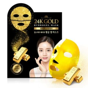 Маска с золотом 24K GOLD HYDROGEL MASK