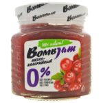 Джем низкокалорийный Брусника, BombJam, 250 г