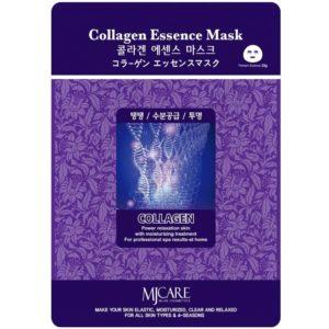 Маска тканевая для лица Mijin Essence Mask с коллагеном