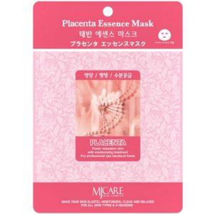 Маска тканевая для лица Mijin Essence Mask с плацентой