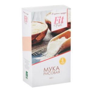Мука рисовая, FitFeel, 500 г