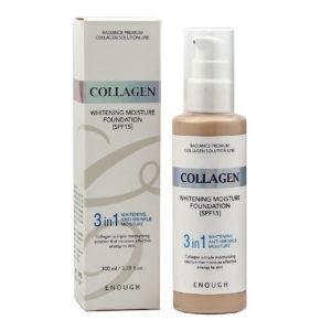 W Collagen Whitening Foundation SPF 15 #13