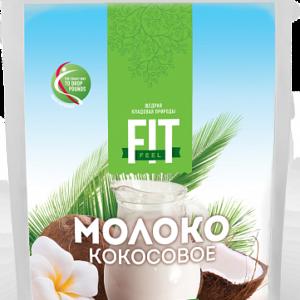 Молоко кокосовое сухое, FitFeel, 90 г