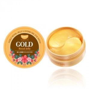 Гидро-гелевые патчи с золотом и маточным молочком KOELF Gold & Royal Jelly Eye Patch