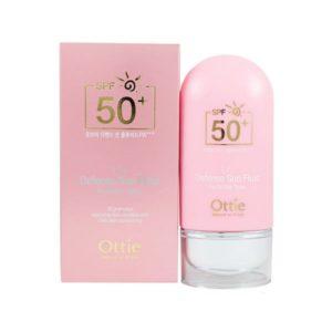 Легкое солнцезащитное молочко для лица и тела Ottie UV Defense Sun Fluid SPF50/PA++