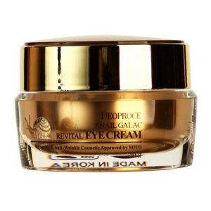 Крем для кожи вокруг глаз с муцином улитки и галактомикис Deoproce Snail Galac-Tox Revital Eye Cream 30г.