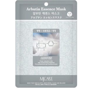 Маска тканевая для лица Mijin Essence Mask с арбутином