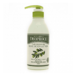 DEOPROCE Well-Being Fresh Moisturizing Olive Body Lotion, 500 мл