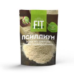 Псиллиум – мука из шелухи семян подорожника, FitFeel, 150 г