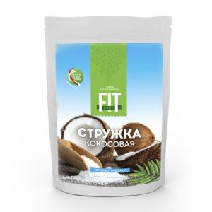Стружка кокосовая, FitFeel, 50 г