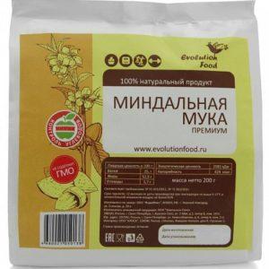 Мука миндальная, Evolution Food, 200 г