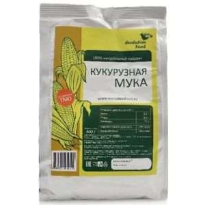 Мука кукурузная, Evolution Food, 400 г