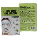 Clear Bubble Tea Tree Mask