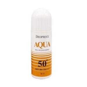 Deoproce Aqua Roll On Sun Essence, 80 мл