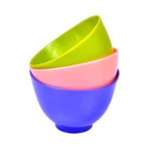 Набор силиконовых чаш для приготовления масок