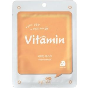 Маска тканевая для лица Mijin Care Mask витаминная