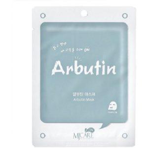 Маска тканевая для лица Mijin Care Mask с арбутином