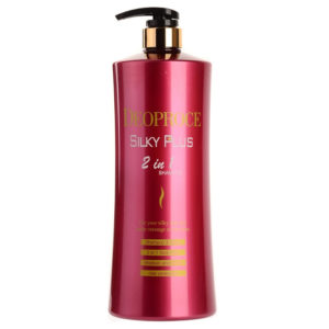 DEOPROCE SILKY PLUS HAIR CLINIC SYSTEM 2 in 1 SHAMPOO & RINSE 1500ml