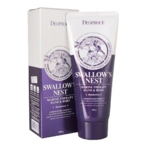 Deoproce Swallow's Nest Marine Therapy Hand and Body Cream