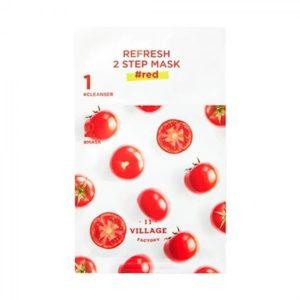 Освежающая 2-х шаговая программа Refresh 2step mask #red