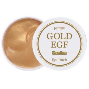 Гидрогелевые патчи для век с золотом и EGF Premium Gold & EGF Eye Patch