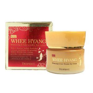 Антивозрастной крем для век Deoproce Whee Hyang Whitening & Anti-Wrinkle Eye Cream 30г