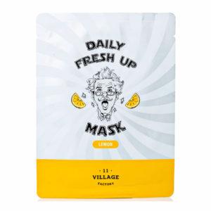 Тканевая маска Daily Fresh UP mask (Lemon)