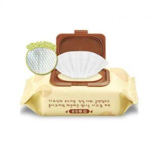 Очищающие пилинг-салфетки Premium Apple Peeling Cleansing Tissue