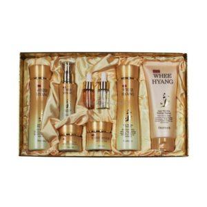 Набор для лица антивозрастной Deoproce Whee Hyang Anti-Wrinkle & Whitening Skin Care 8 Set