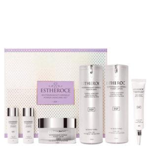 Набор омолаживающих средств с EGF против морщин и пигментации ESTHEROCE Whitening & Anti-Wrinkle Power Skincare Set