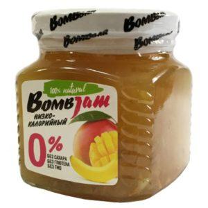 Джем низкокалорийный Манго-Банан, BombJam, 250 г