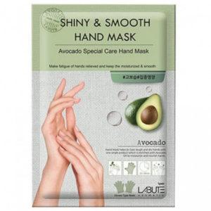 Shiny  &  smooth  foot  Mask  с экстрактом авокадо