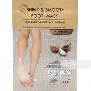 Shiny  &  smooth  foot  Mask с маслом ши
