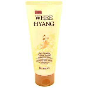 Пилинг для лица омолаживающий Deoproce Whee Hyang Anti-Wrinkle Peeling Vegetal (170 мл)