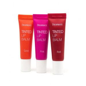 Тинт для губ Deoproce Tinted Lip Balm Red, 10 гр